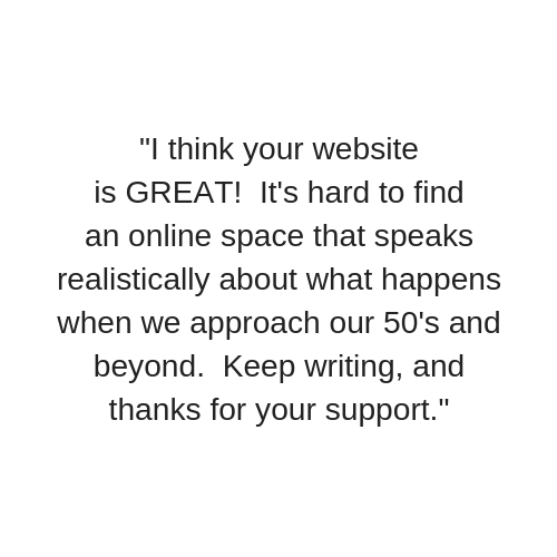 Sheryl Kraft Freelance Health Writer Testimonial 1